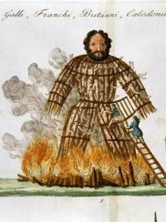 The Wicker Man, from 'The History of the Nations'